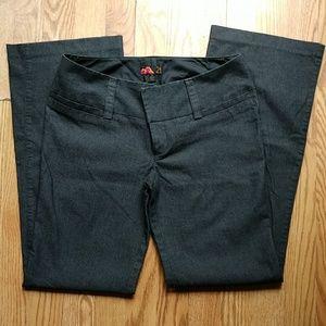 Women's size 7 charcoal grey black 21 dress pants